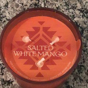 🥭 Rare bbw salted white mango candle